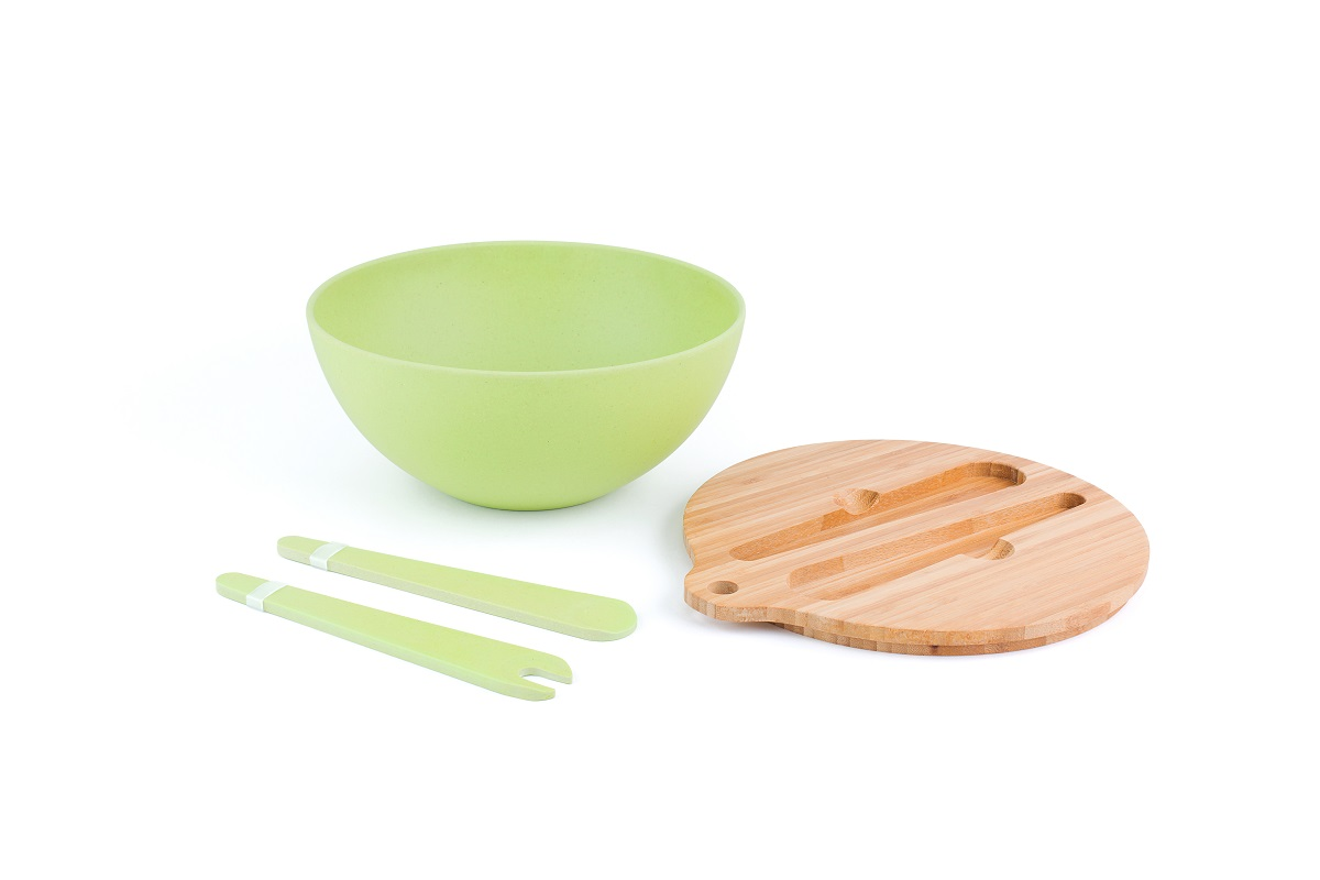 Metal Food Service Salad Bowl