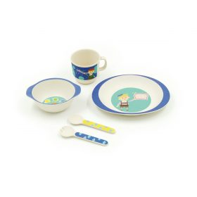 Blue Boy -5pcs Kids Dinnerware Set  sc 1 st  Peterson Housewares & Kids Dinnerware Set u2013 Peterson Housewares